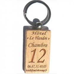 Porte-clefs Hôtel