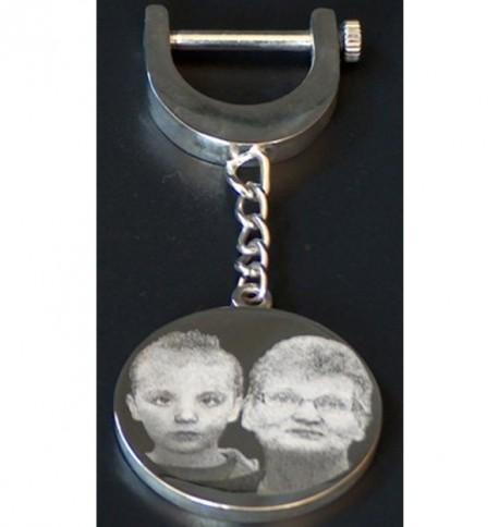 Porte-clefs rond grand