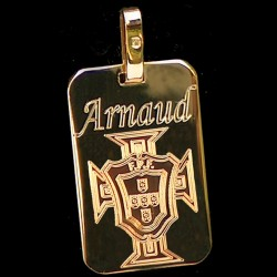 Pendentif rectangle Tp